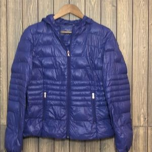 Halifax Down Purple Hooded Puffer Jacket